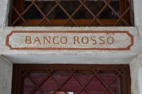 banco rosso venezia