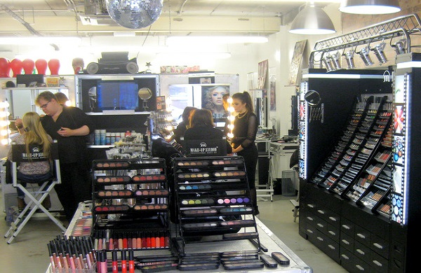 Inside Make Up Pro Store Belfast