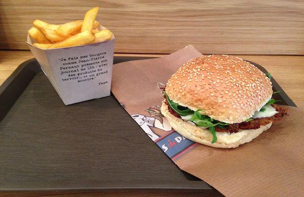 Les Burgers de Papa, l'hamburger d'une autre façon