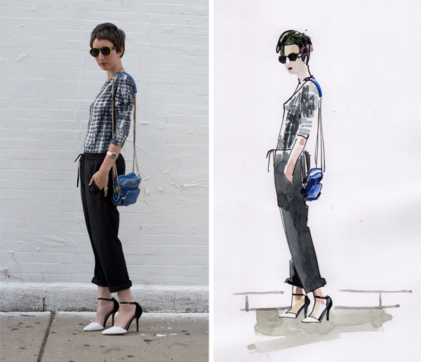 An-Illustrated-Guide-to-Bargain-Shopping-with-Blogger-Alanna-Zaritz_blackandwhiteheels_600c516