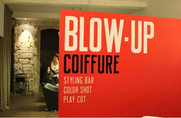 Blow Up Coiffure : parce qu'en plus ils ont un Styling Bar… !