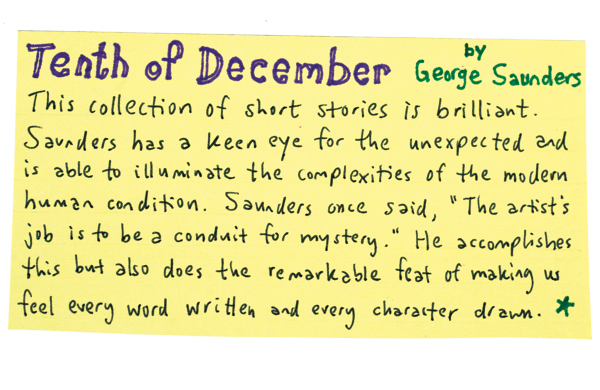 10-Handwritten-Book-Recommendations-from-Unabridged-Bookstore-tenth-of-december_600c390