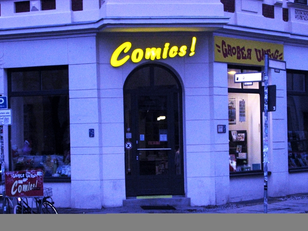 Meine Hit List der besten Comic Läden in Berlin