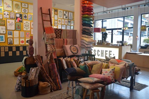 SCHEE - ein Geschäft für ganz besonderes Design