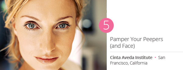 Pamper Your Peepers (and Face) at Cinta Aveda Institute