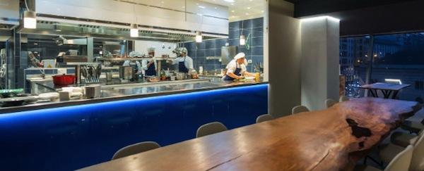 Viviana cucina a vista Milano