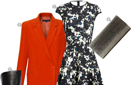 How Do You Beat the Winter Blues? Wear Tangerine.
