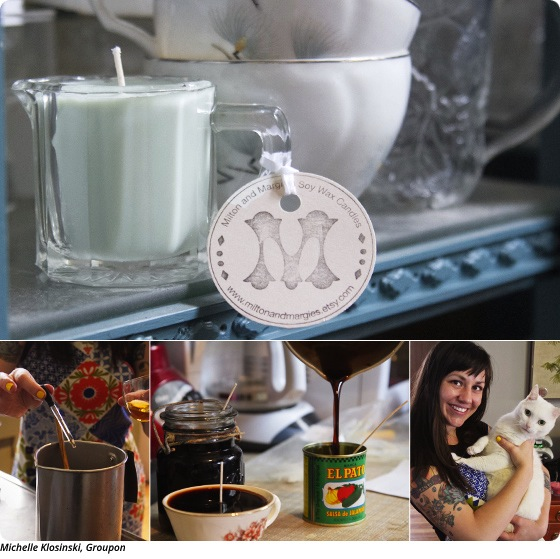 DIY Candles with Jess Duff of Milton and Margie's Soy Wax Candles