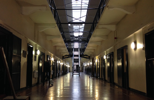Inside Crumlin Road Gaol