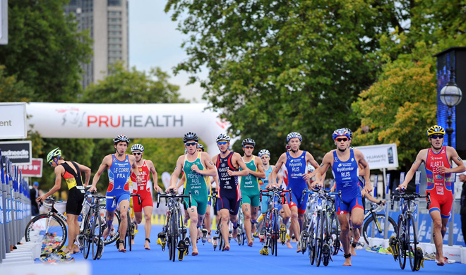Challenge Yourself at a London Triathlon Event