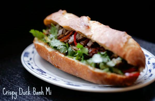 Crispy Duck Banh Mi