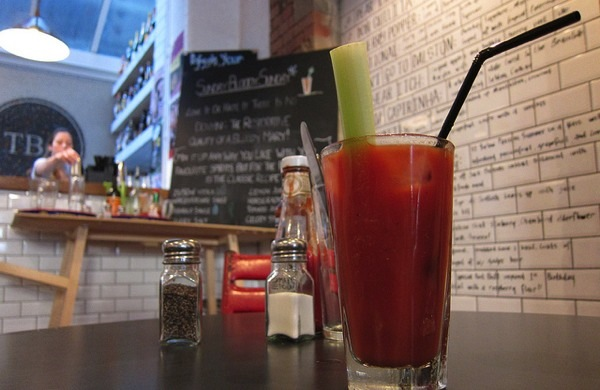 On the Hunt for the Best Bloody Mary in London