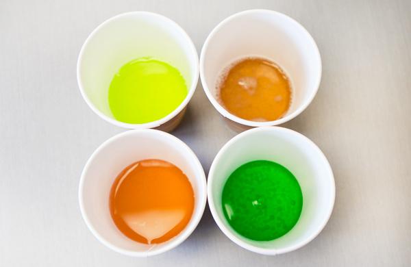 Anna Skorczeski Taste Testing Fizzy Drinks