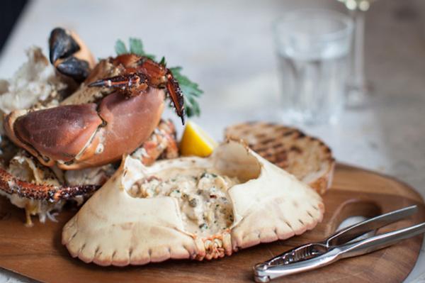Seafood Restaurants London - Bonnie & Gull