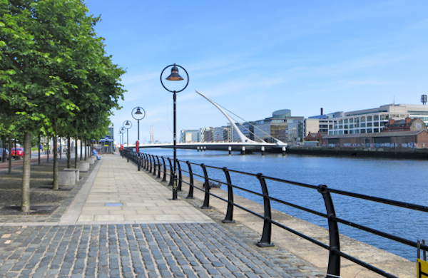 Quays in Dublin