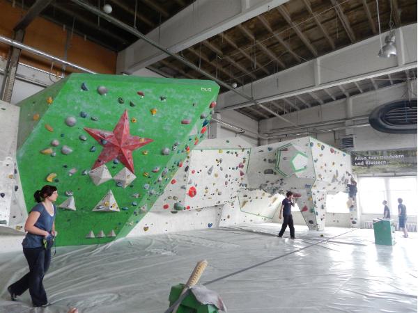 Klettern statt Klotzen - Bouldern in Berlin