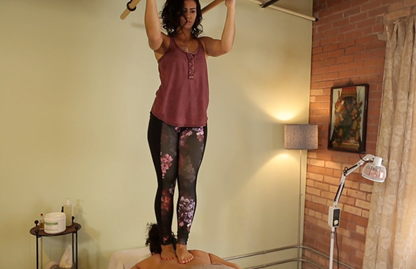 Ashiatsu Oriental Bar Therapy Explained
