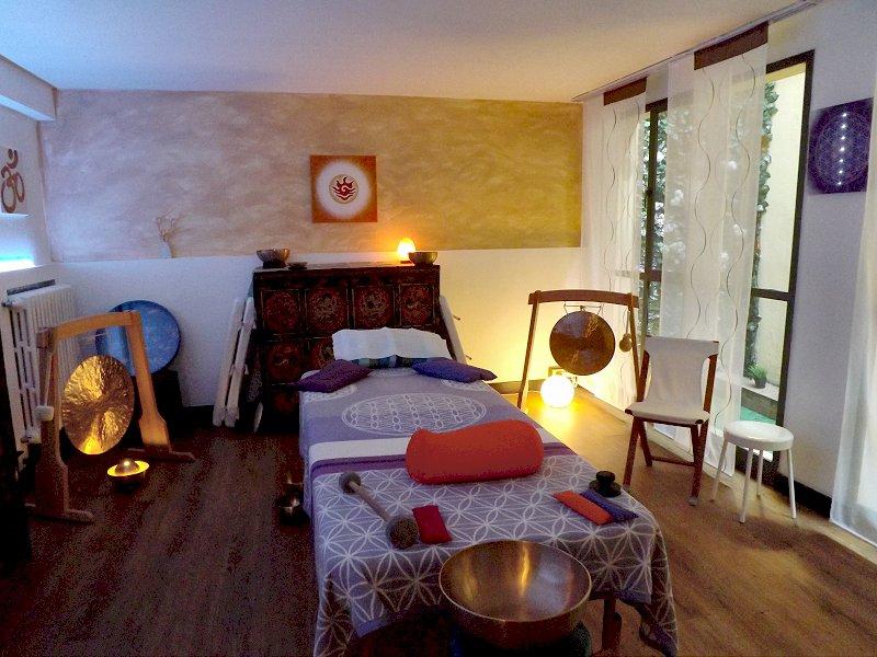 stanza per massaggio sonoro