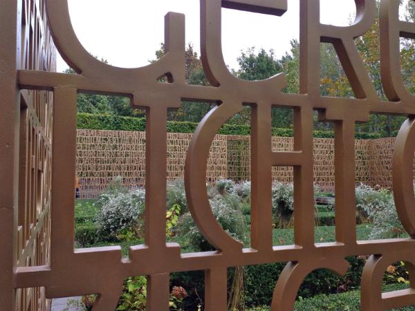Christlicher Garten in den Gärten der Welt