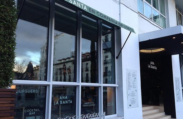 Restaurante Ana la Santa en Madrid