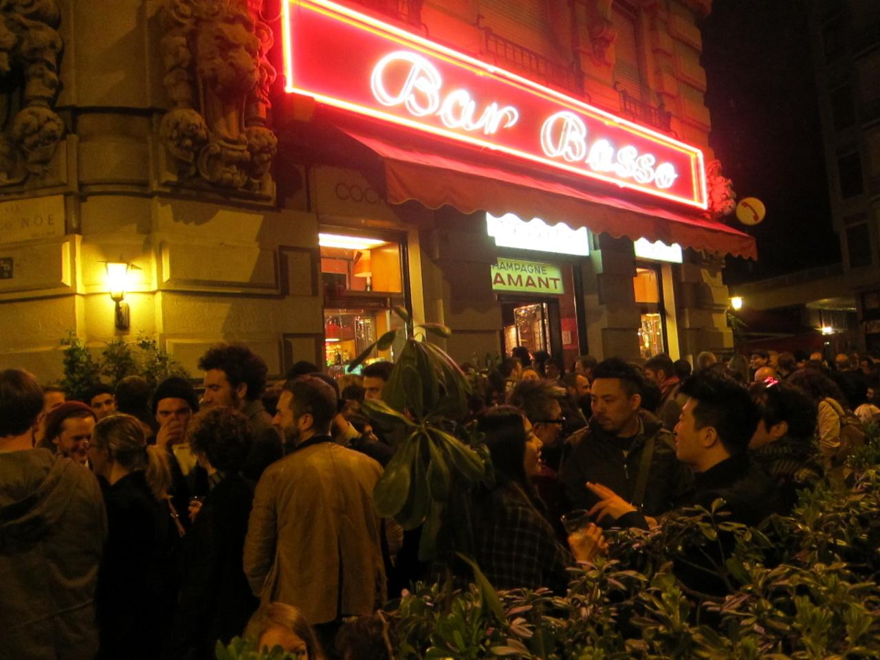 Bar Basso Milano Fuorisalone