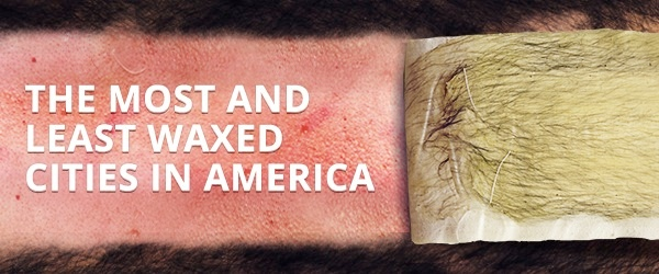 most and least waxed cities