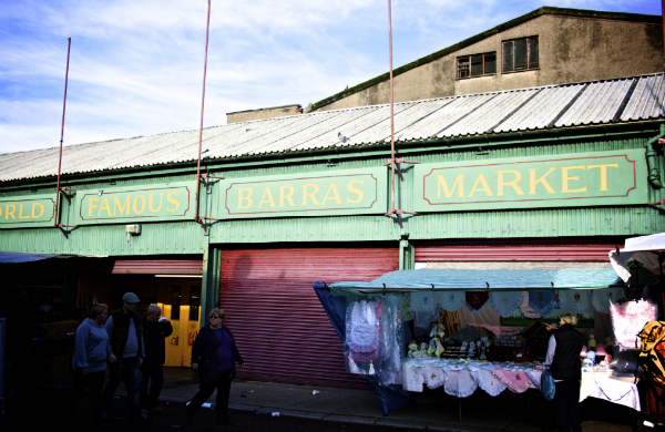Barra Market  Glasgow