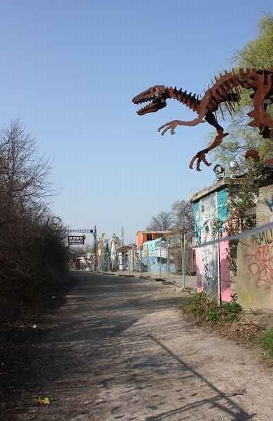 Eingang vom Kölner Veranstaltungsort Odonien