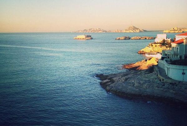 Vue du Rhul Marseille
