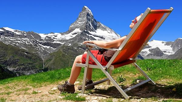 Estate in montagna: l'alta quota abbronza di più
