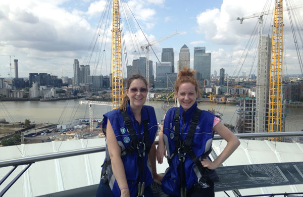 Would you be brave enough to climb the O2?