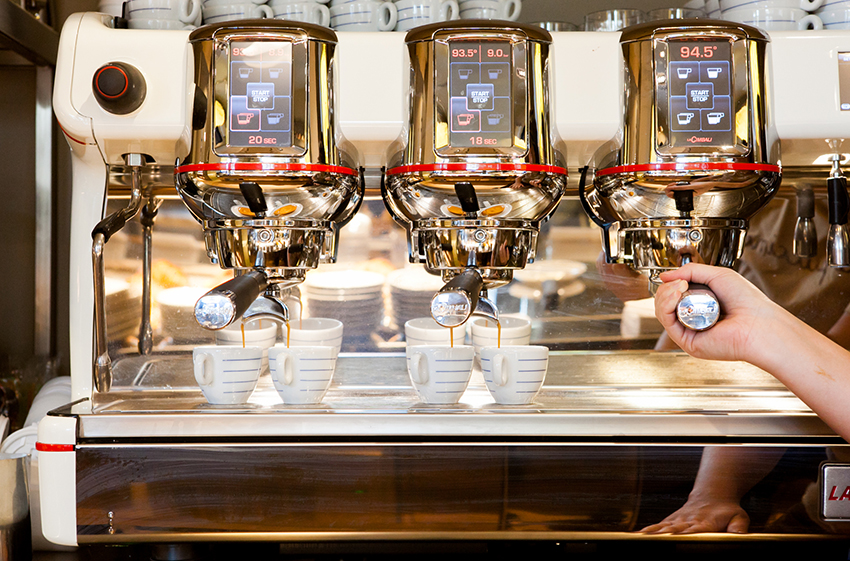 macchina caffè capuccino