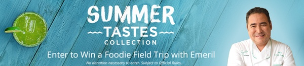 summer tastes banner