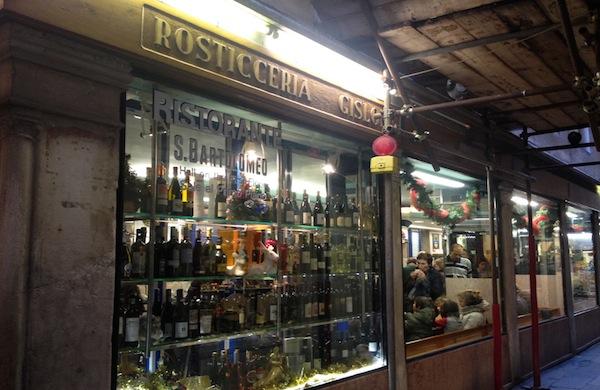 Mangiare economico a Venezia alla Rosticceria Gislon