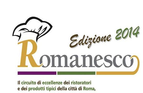Il Progetto Romanesco 2014 invade i ristoranti della Capitale