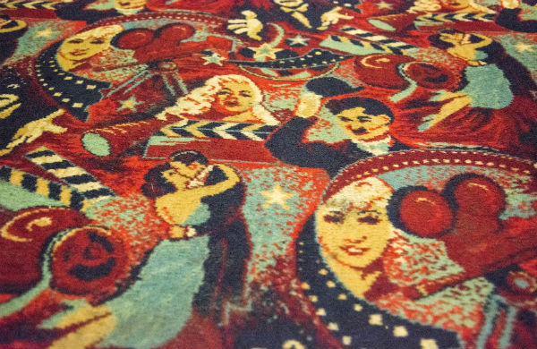 The carpet in The Strand