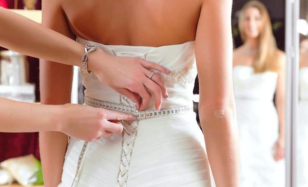abito sposa prova