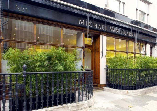 Michael Van Clarke 1 Beaumont Street London W1g 6df