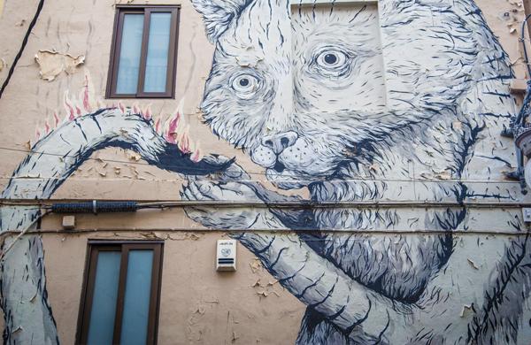 Grafiti Arte Urbano en Valencia