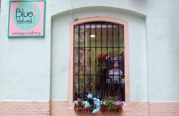 Blue Velvet, tienda vintage en Zaragoza