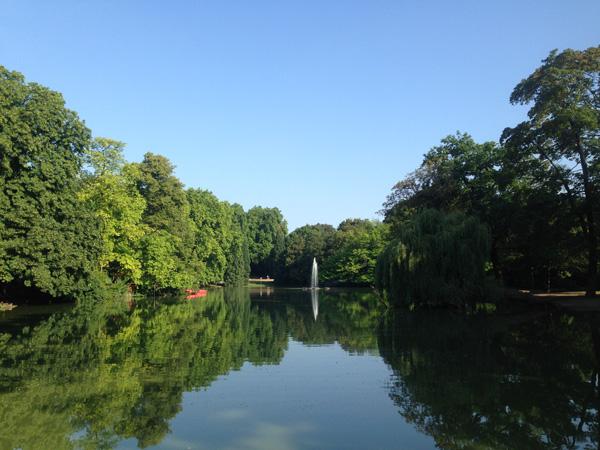 Volksgarten Köln See