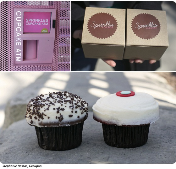 Dish of the Week: A Cinnamon-Sugar Cupcake at the Cupcake ATM