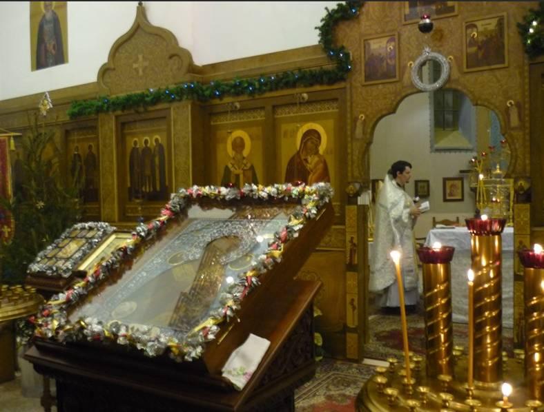 chiesa russa bari interno