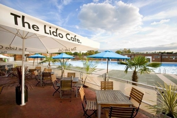 lido cafe outdoor pub london