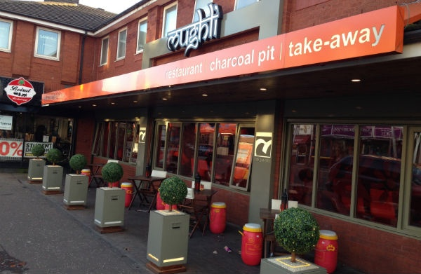Mughli restaurant manchester