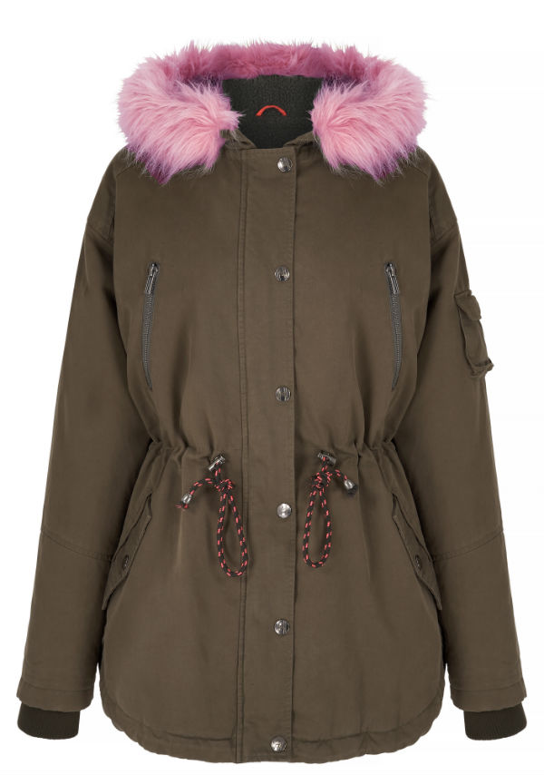 Parka coat from Debenhams