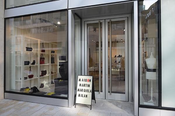 La boutique Maison Martin Margiela Accessori a Milano