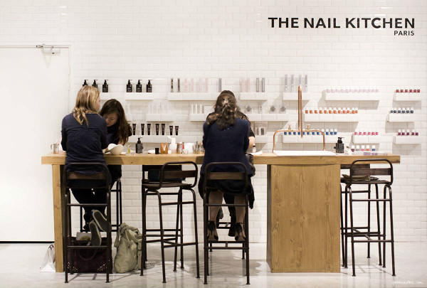 The Nail kitchen salon de manucure Paris