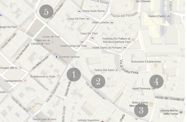 Roma, shopping a Campo de' Fiori: i negozi più trendy e alla moda