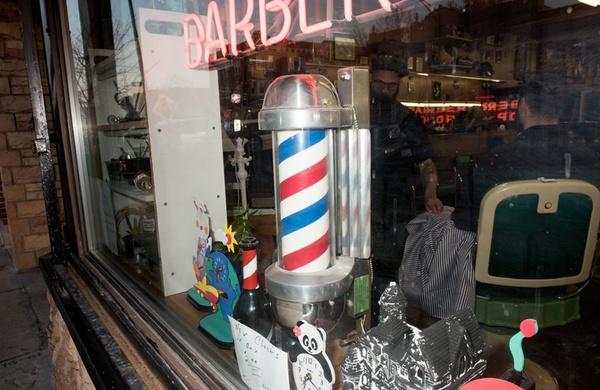 Barber pole Joe s